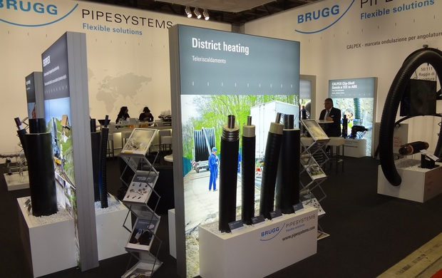 Brugg Pipe Systems in fiera