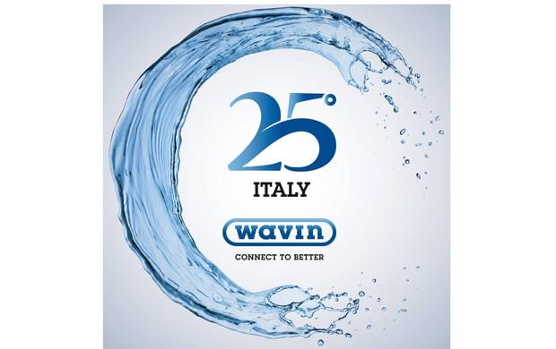 25 candeline per Wavin Italia