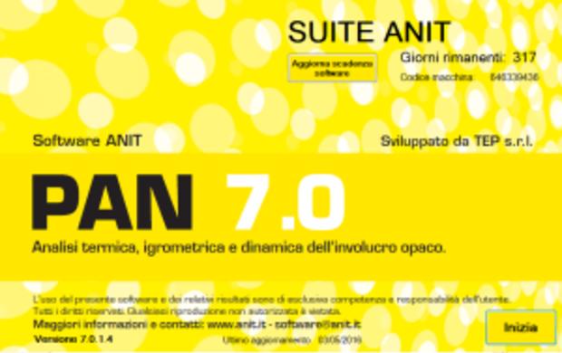 Nuovo database tecnico per i software Anit