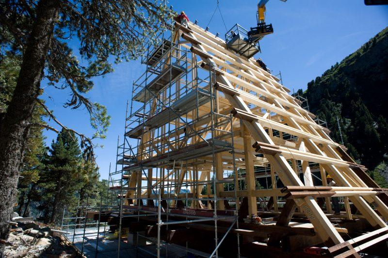Casa Capriata di Carlo Mollino: rifugio alpino in classe A Gold