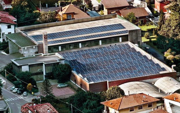 Impianto fotovoltaico per uno stabilimento produttivo