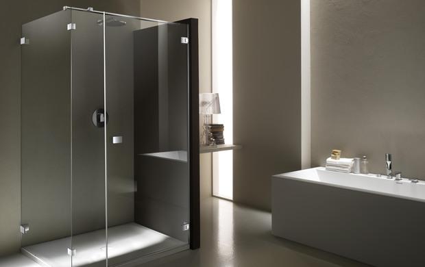 Cabine doccia senza telaio infoimpianti - Cabine doccia su misura ...