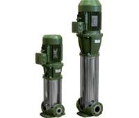 Pompa centrifuga pluristadio verticale di DAB PUMPS