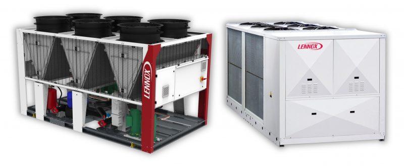 Chiller Lennox per l'abbandono di gas refrigeranti fluorurati
