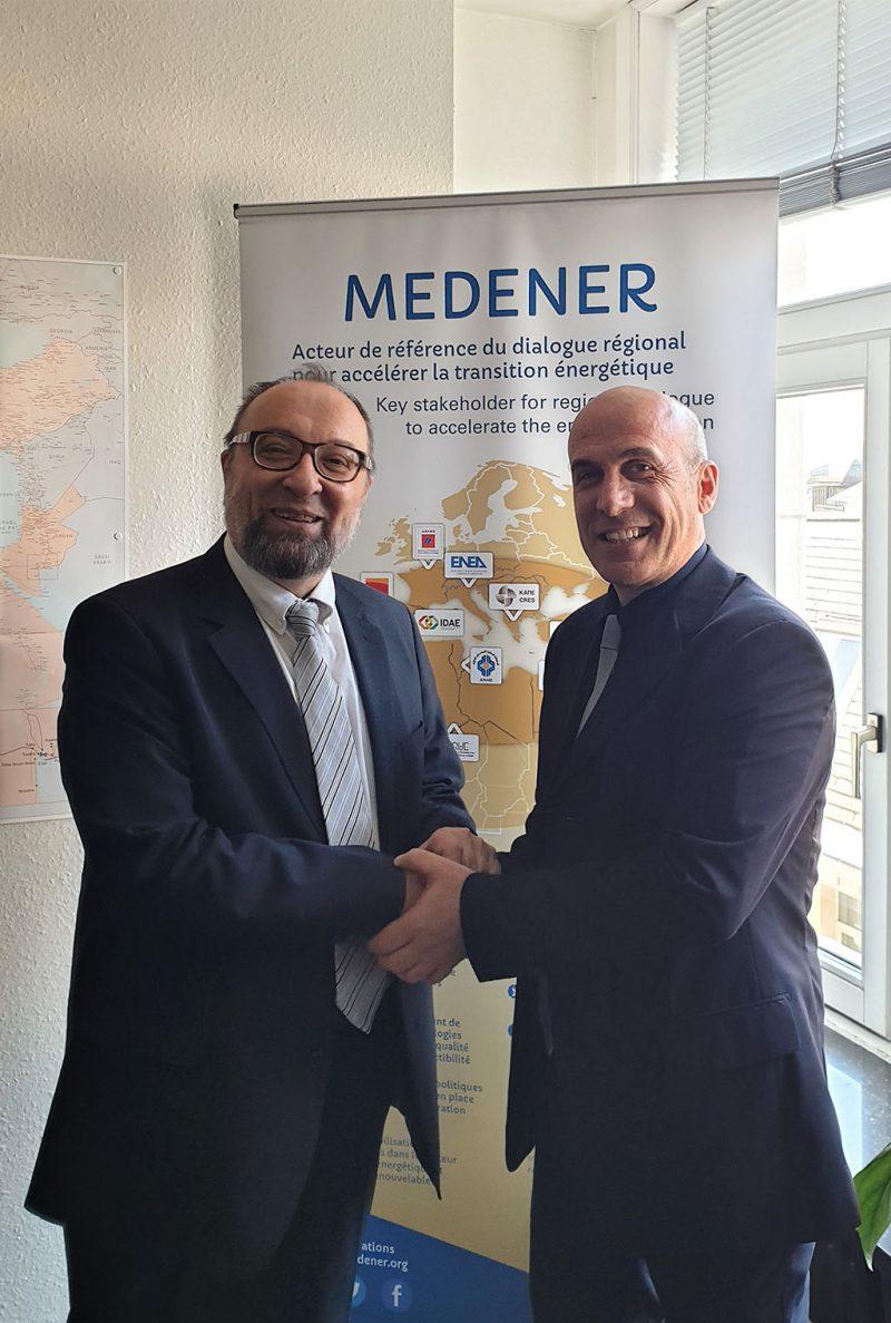 Giorgio Graditi dell'ENEA è il nuovo presidente di MEDENER
