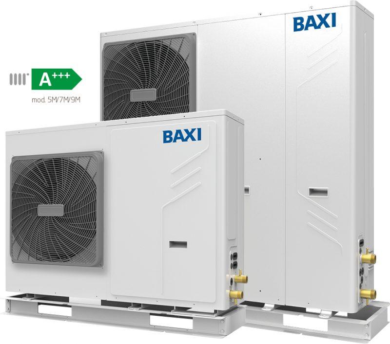 Pompa di calore aria-acqua ad alta efficienza energetica