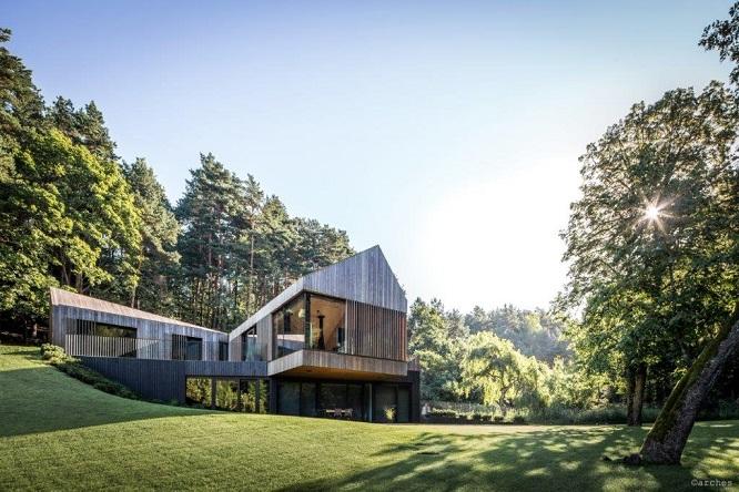 Building in nature: CEA per l'ambiente bagno in un progetto in Lituania