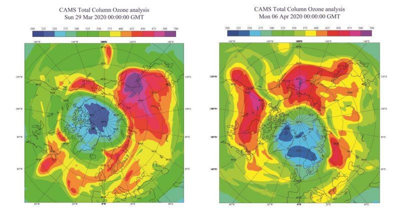 Buco dell'ozono da record nell'Artico