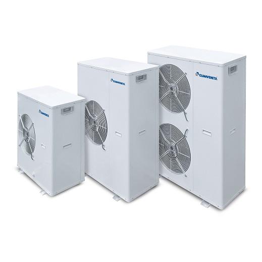 Pompe di calore e chiller condensati ad aria