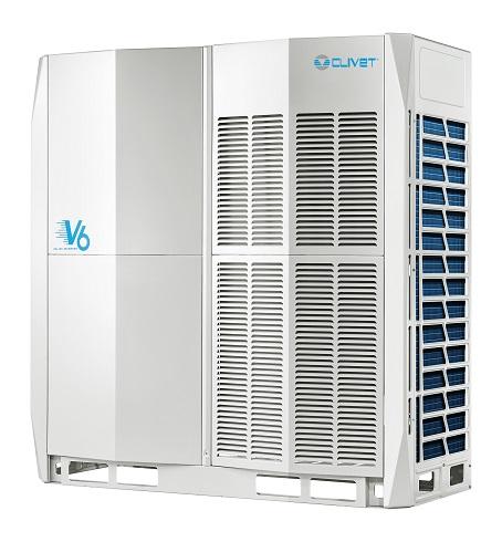 Unità esterna in pompa di calore V6 per sistemi VRF