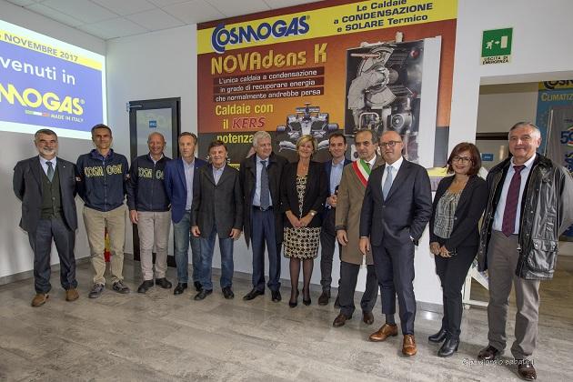 Visita del Ministro dell'Ambiente e delle Istituzioni in Cosmogas