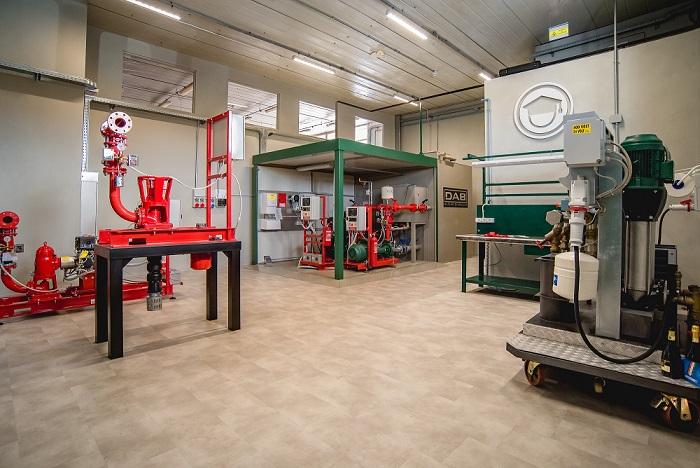 D.Lab, il laboratorio per la formazione tecnica antincendio