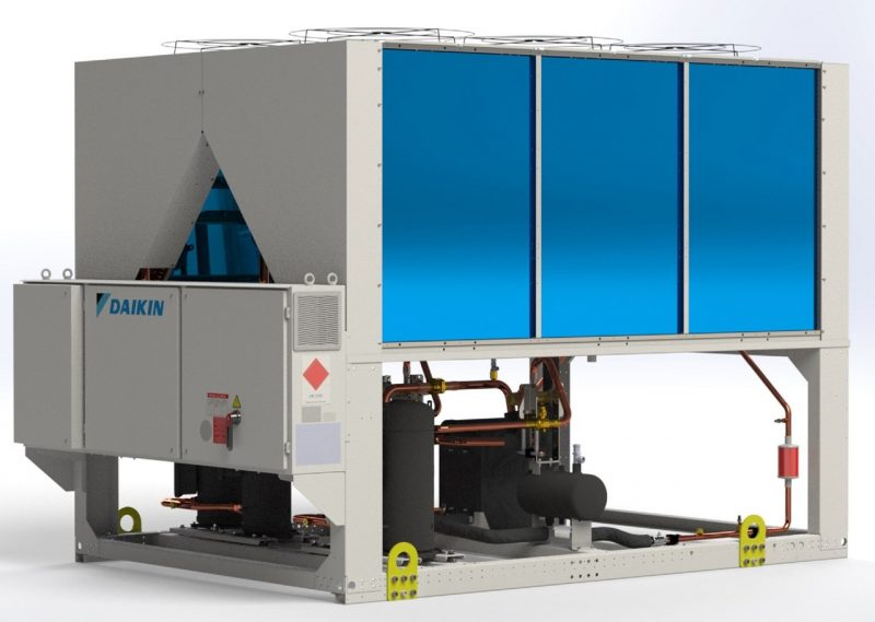 EWYT-B, la nuova pompa di calore ad alta capacità in R32