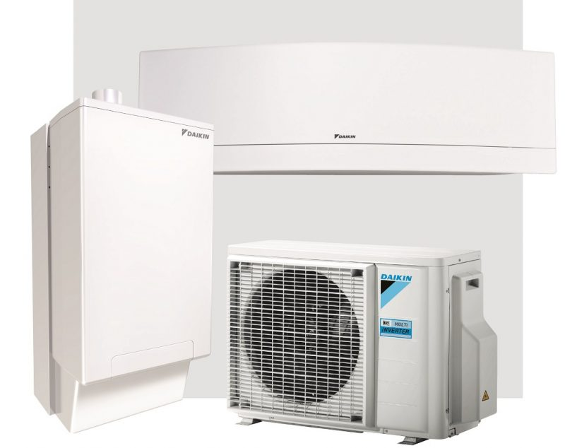 HPU Hybrid + Multi: sistema integrato a R32 di climatizzazione e produzione acs