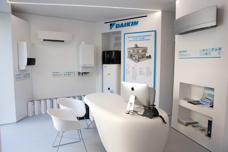A Roma apre un nuovo showroom Daikin Aerotech