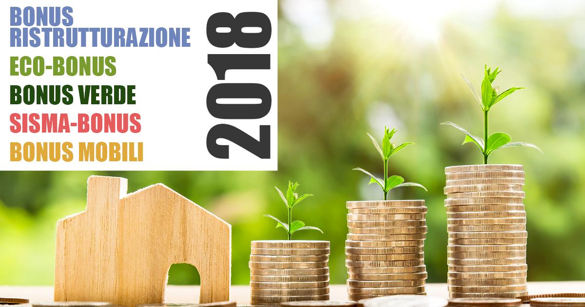 Proroga delle detrazioni fiscali per il 2018 conferme for Detrazioni fiscali 2018