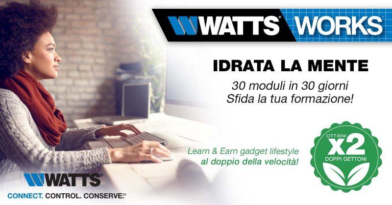 30 moduli in 30 giorni sulla piattaforma Watts Learn & Earn