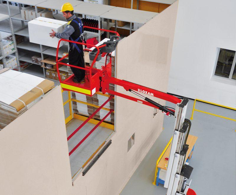 Elevatori a braccio ed elevatori a colonna Loxam