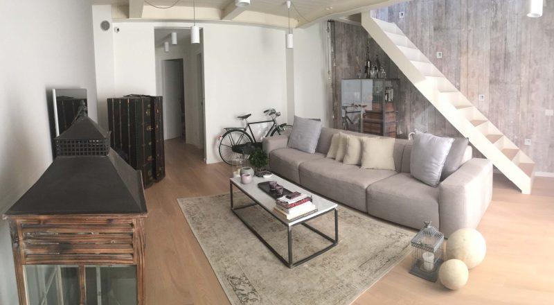 FIMA firma il restyling in stile industriale di un appartamento