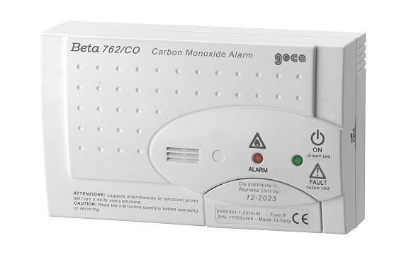 Casa più sicura con Beta 726/CO Geca