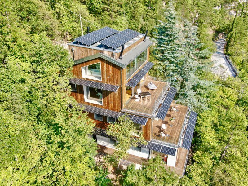 La Forestale Luxury Ecolodge sceglie il fotovoltaico LG