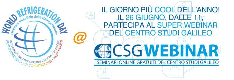 World Refrigeration Day, il CSG organizza un super webinar
