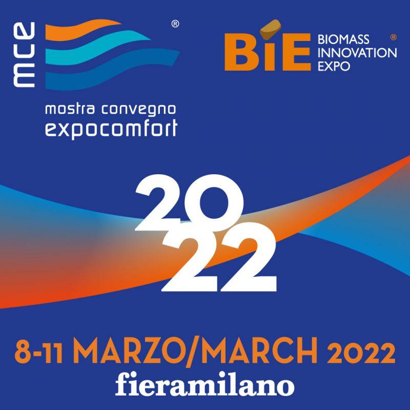 MCE e BIE riprogrammate a marzo 2022