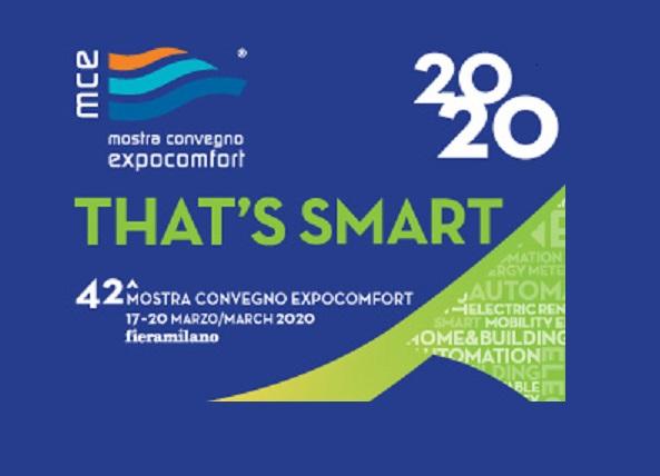 THAT'S SMART – Mostra Convegno Expocomfort 2020