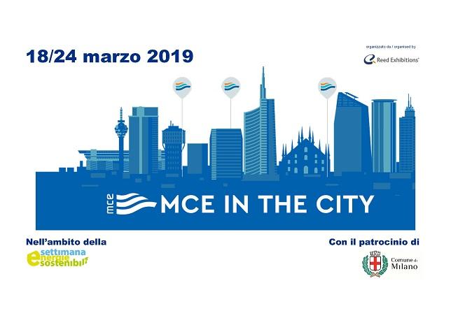 Appuntamento con l'efficienza energetica: ritorna MCE IN THE CITY