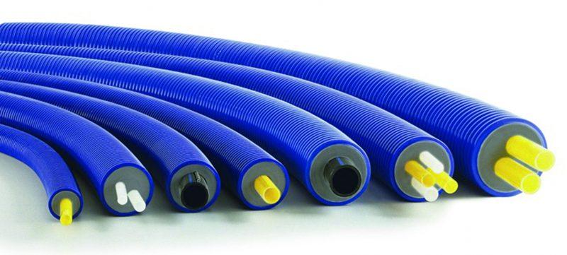 Sistema di tubazioni preisolate ad alta flessibilità