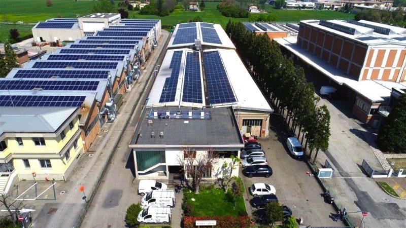 Fotovoltaico: inverter Sunny Tripower Core 1 per l'impianto di Officina Ferrari GBW