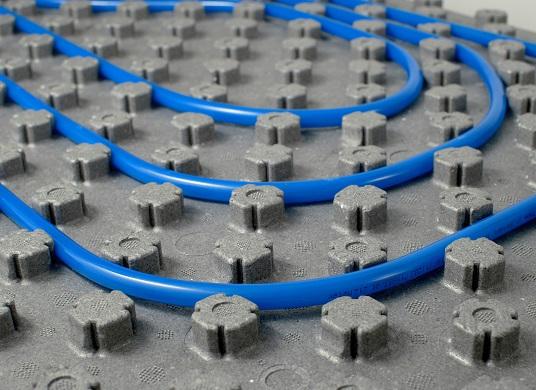 Nuovo sistema radiante a pavimento Super D
