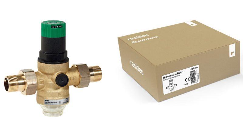 Resideo rinomina Braukmann la gamma prodotti per applicazioni idrauliche
