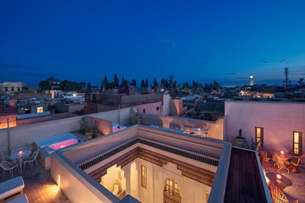 Diametro 35 Inox di Ritmonio per una dimora a  Marrakech