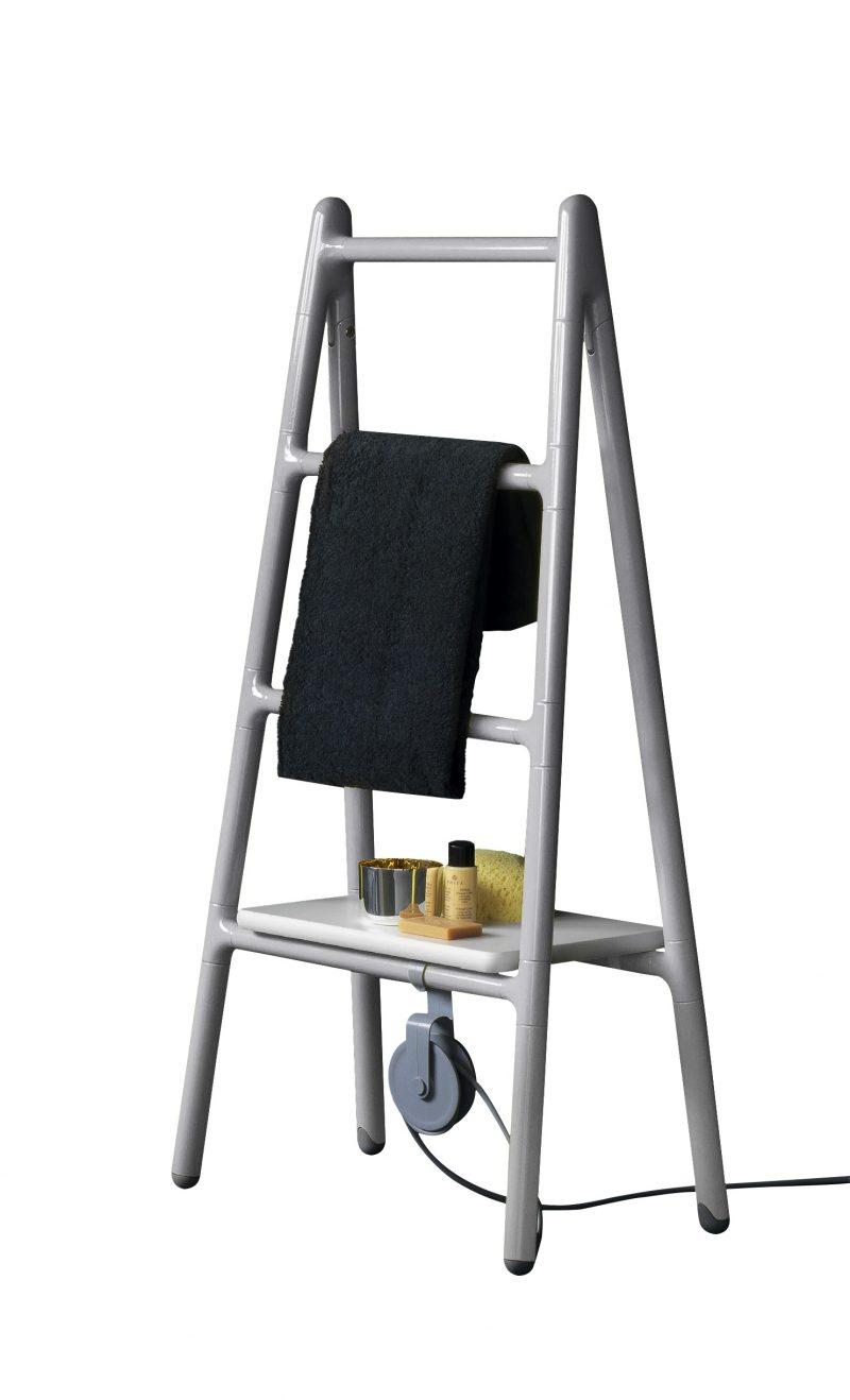 Il radiatore Scaletta si veste di grigio metallizzato