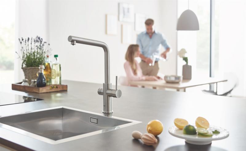 Bonus acqua potabile: i sistemi di filtrazione Grohe per la sostenibilità
