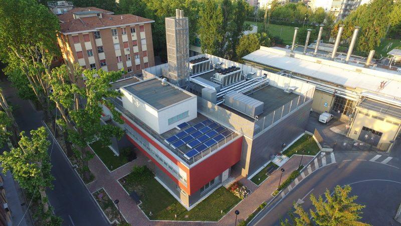 Centrale di trigenerazione Siram per l'Ospedale di Parma