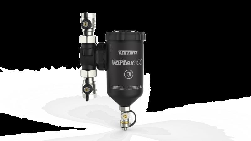 Sentinel Eliminator Vortex500. Filtro magnetico con elevata capacità di raccolta