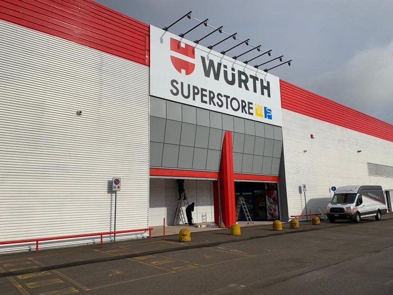 Riapre il Würth superstore a Stezzano