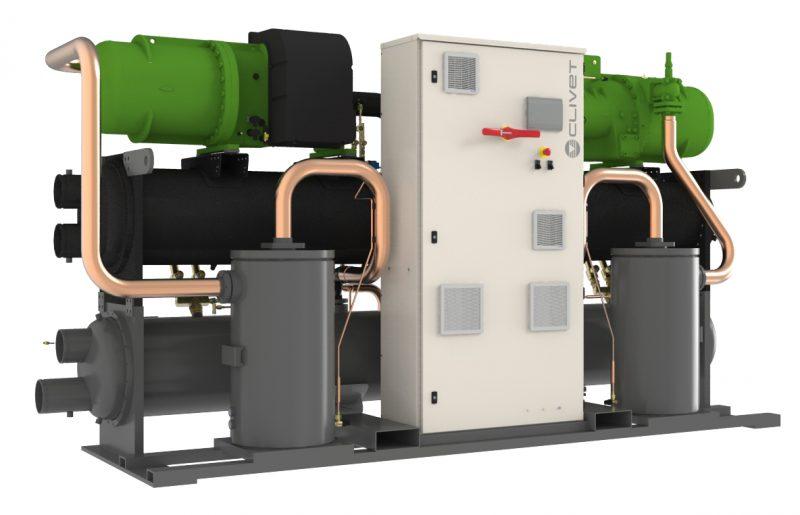 Screwline4-i di Clivet propone tecnologia inverter con refrigerante R513A