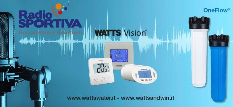 Watts On Air su Radio Sportiva con Ciccio Graziani