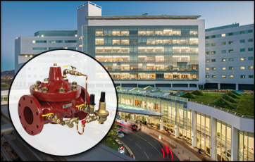 Valvola ACV Watts per l'ospedale universitario della Virginia