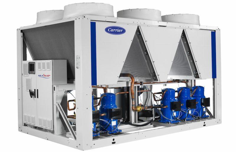 AquaSnap, i refrigeratori ad aria con compressore Scroll in versione R-32