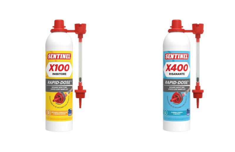 Rapid Dose X100 e X400 di Sentinel