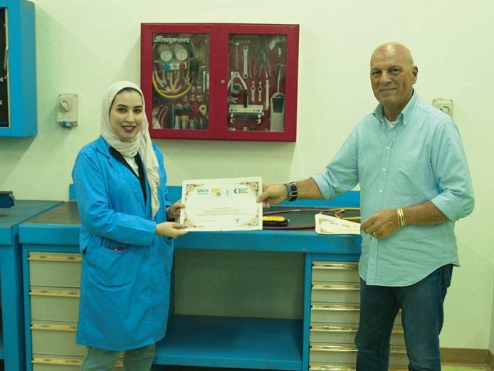 Asmaa Alenezi: certificata in Medio Oriente