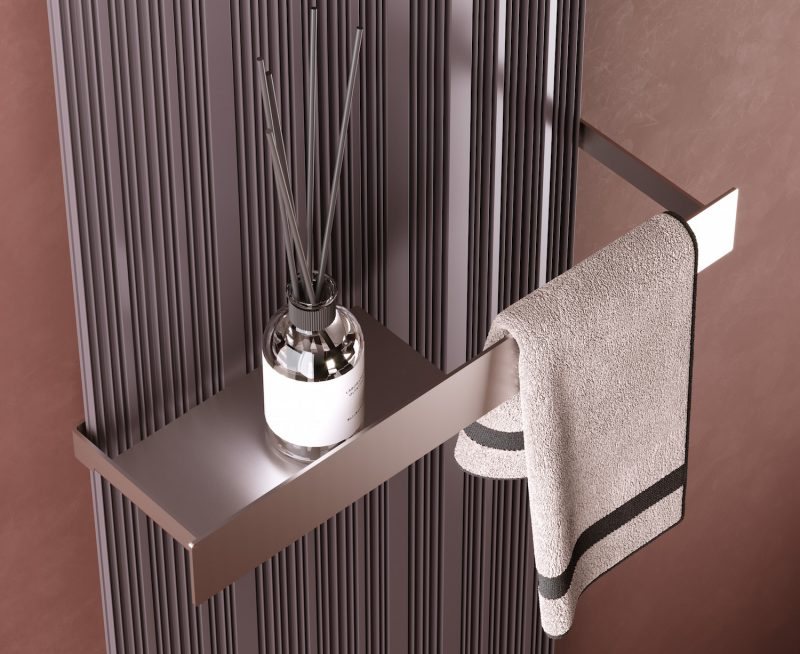 Nuovo termoarredo Tessuto, da Cordivari Design
