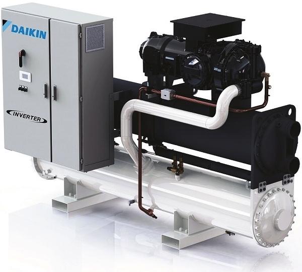 Daikin presenta i nuovi chiller condensati aria e acqua con compressori inverter