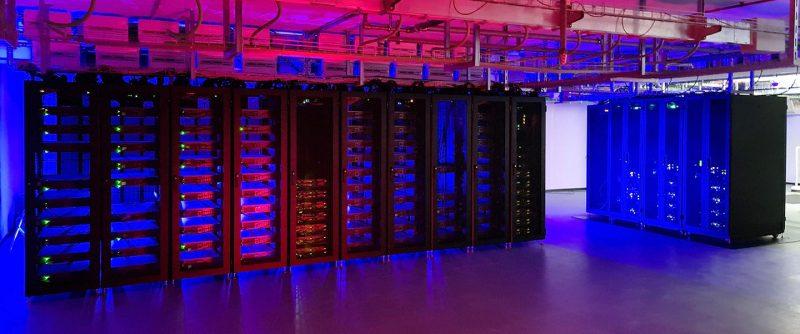 Raffreddare il supercomputer Davinci-1 che elabora dati sensibili e riservati