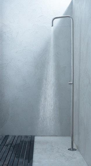 Colonna da esterno in acciaio inox 316L