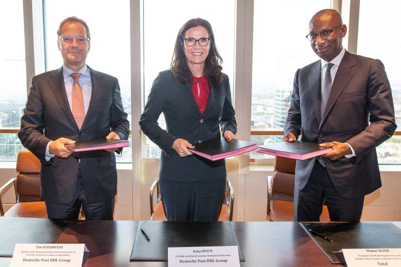 Accordo di cooperazione strategica tra il gruppo DHL e Total